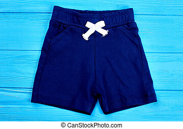 Cotton shorts for toddler boy.
