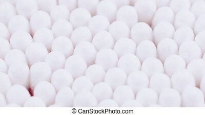 Cotton sticks in bulk