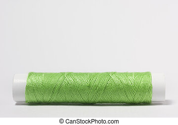Cotton thread green