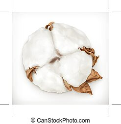 Cotton vector icon