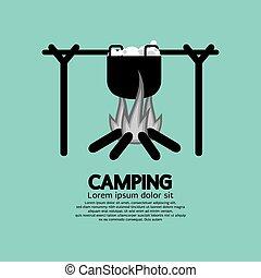 cottura, campfire.
