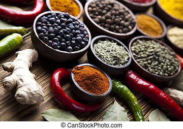 cottura spezia, ingrediente