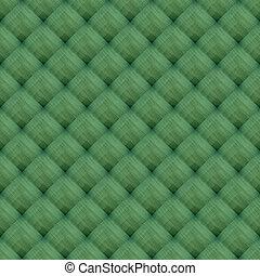 couché, modèle, toile, vert, fond