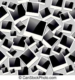 couches, instant, fichier, vendange, organisé, seamless, arrière-plan., editing., vecteur, facile, modèle, cadres, eps10, photo