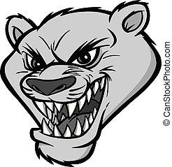 Cougar Mascot Illustration