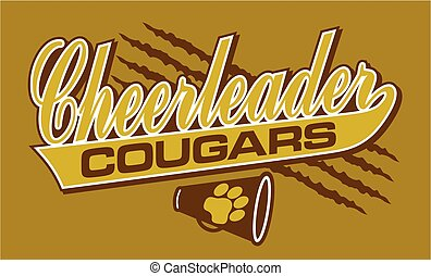 cougars cheerleader