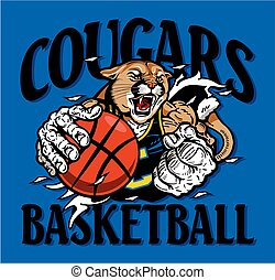 cougouars, basket-ball