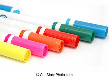 couleur, 2, marqueurs