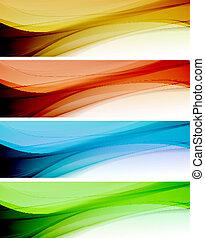 couleur, arrière-plan., résumé, gabarit
