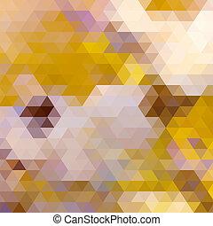 couleur automne, triangle, arrière-plan.
