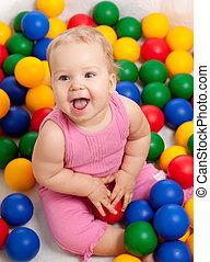 couleur, bébé, jouet éducatif, joli