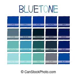 Indigo Blue Color Swatch
