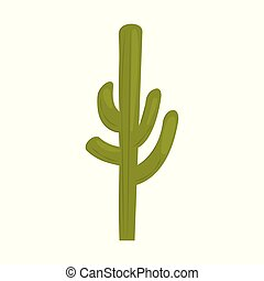 couleur, cactus, icône