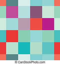 couleur, carrée