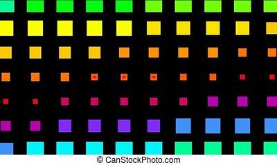 couleur, carrée, matrice, fond