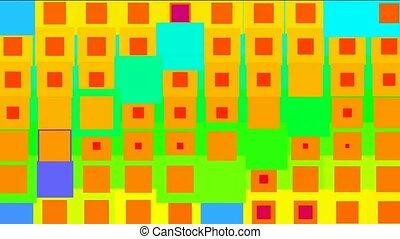 couleur, carrée, seamless, def, boucle, fond