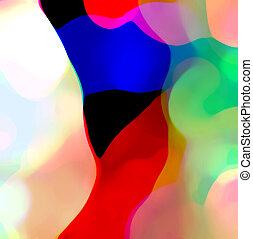 couleur, composition, résumé