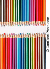 couleur, crayons