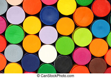 couleur, crayons, gros plan, fond
