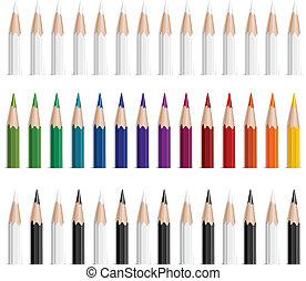 couleur, crayons