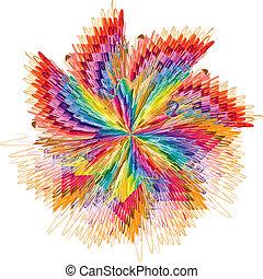 couleur, dans mouvement