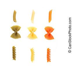 couleur,  différent,  crossover, pâtes