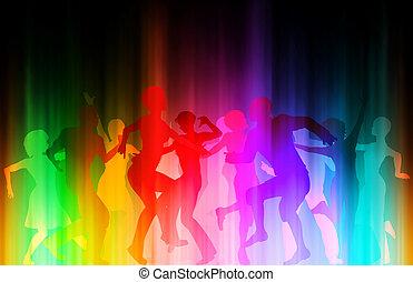 couleur, disco