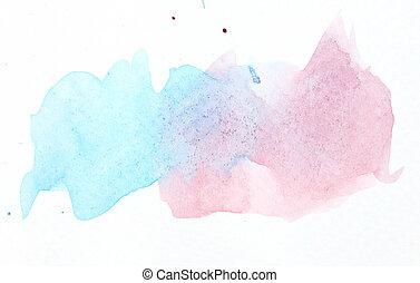 couleur eau, fond, résumé