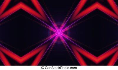 couleur, en mouvement, linéaire, résumé, arrière-plan., ...