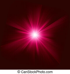 couleur, eps, burst., conception, 8, rouges