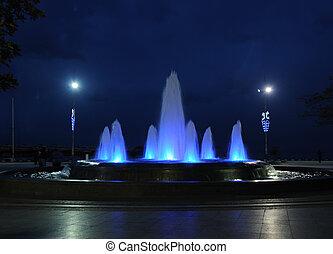 couleur, fontaine