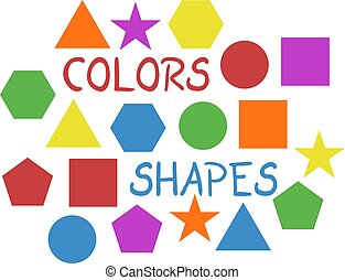 couleur, formes, fond