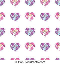 couleur, géométrie, coeur