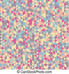 couleur, géométrique, fond