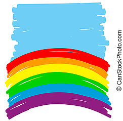 couleur, gay, résumé, illustration, backgorund, .vector