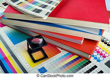 couleur, gestion, ensemble