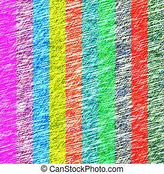 couleur, grunge, lignes