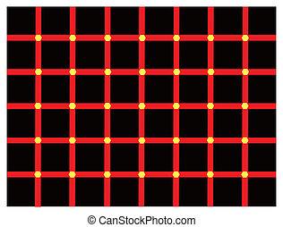 couleur, illusion optique