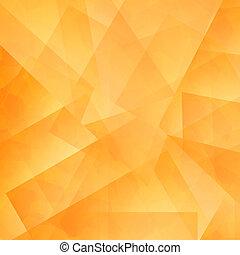 couleur, diagonal, jaune, arrière-plan., orange, pixels,... dessin ...
