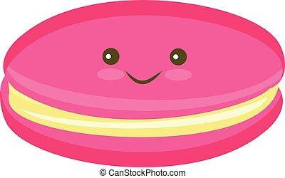 couleur, macaron, petit gâteau