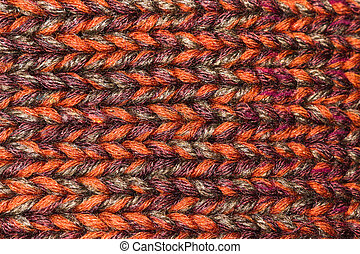 couleur, macro, laine