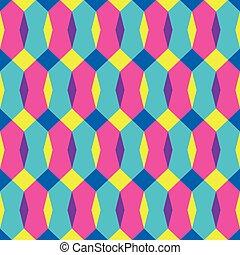 couleur, modèle, résumé, seamless, illustration, vecteur, conception, géométrique, qualité, ton