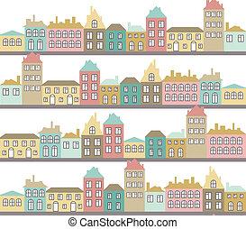 couleur, modèle, rues