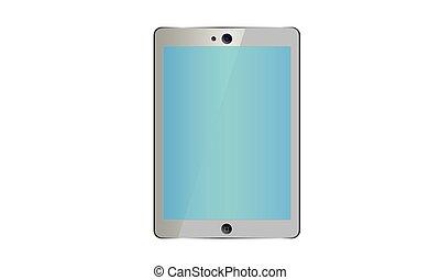 couleur, pc, screen., tablette