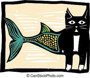 couleur, poisson-chat