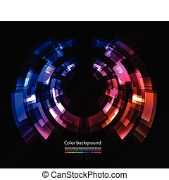 couleur, résumé, fond
