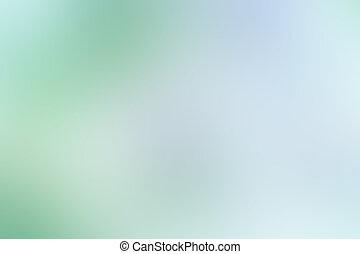 couleur, résumé, mouvement brouillé, vert, retro, fond