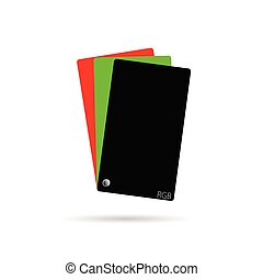 couleur, rgb, vecteur, illustration