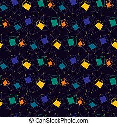 couleur, seamless, géométrie
