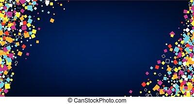 couleur, squares., fond